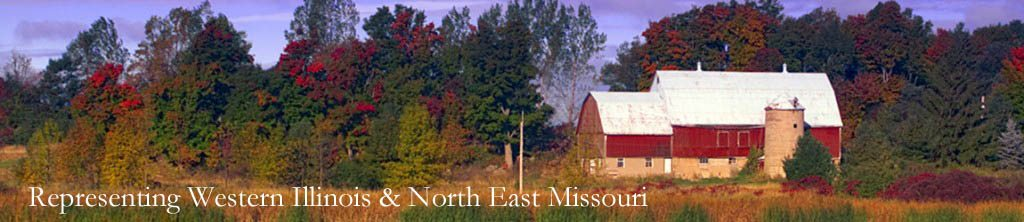 Representing Western Illinois & Northeast Missouri